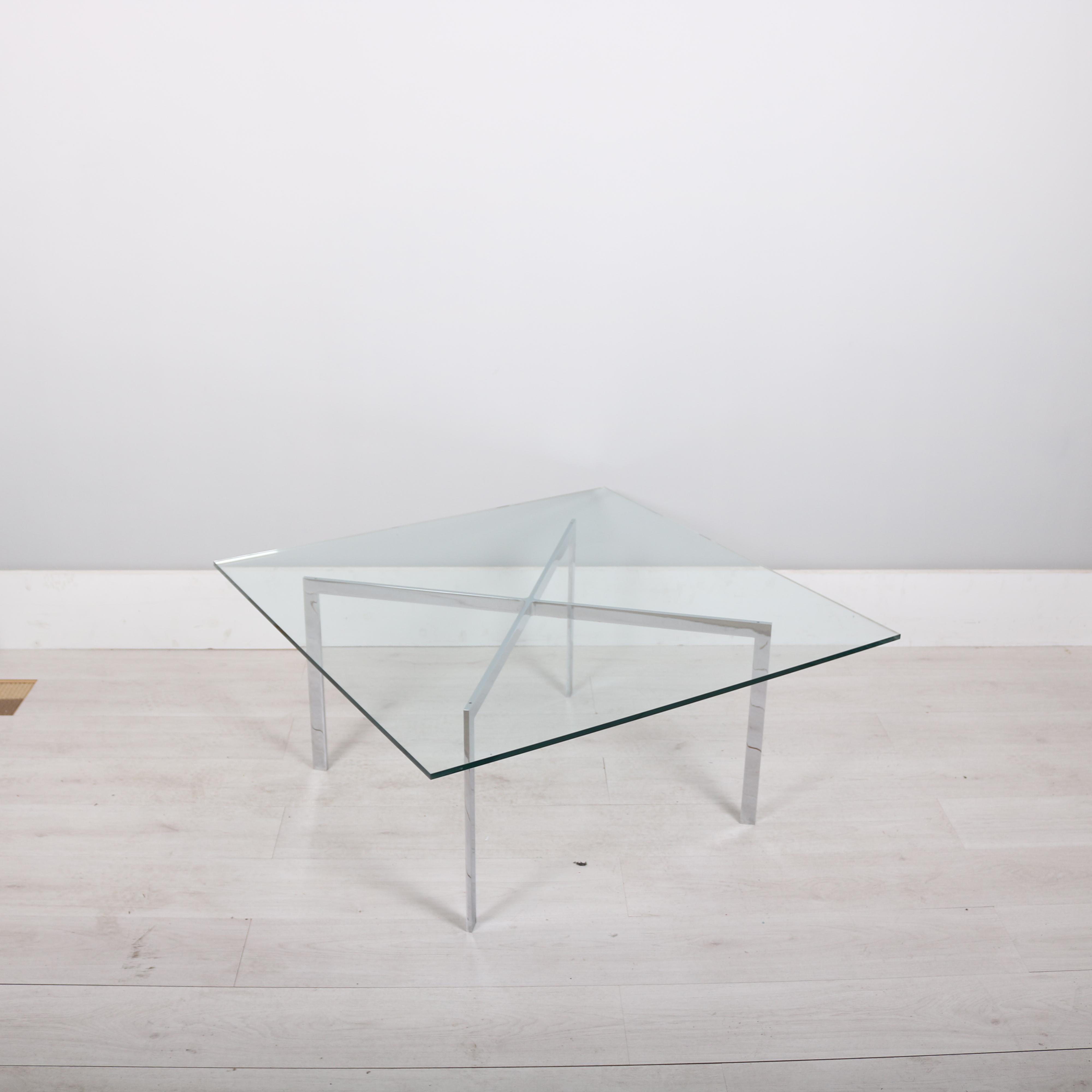 Knoll Studio Mies van Der Rohe Barcelona table StudioModern