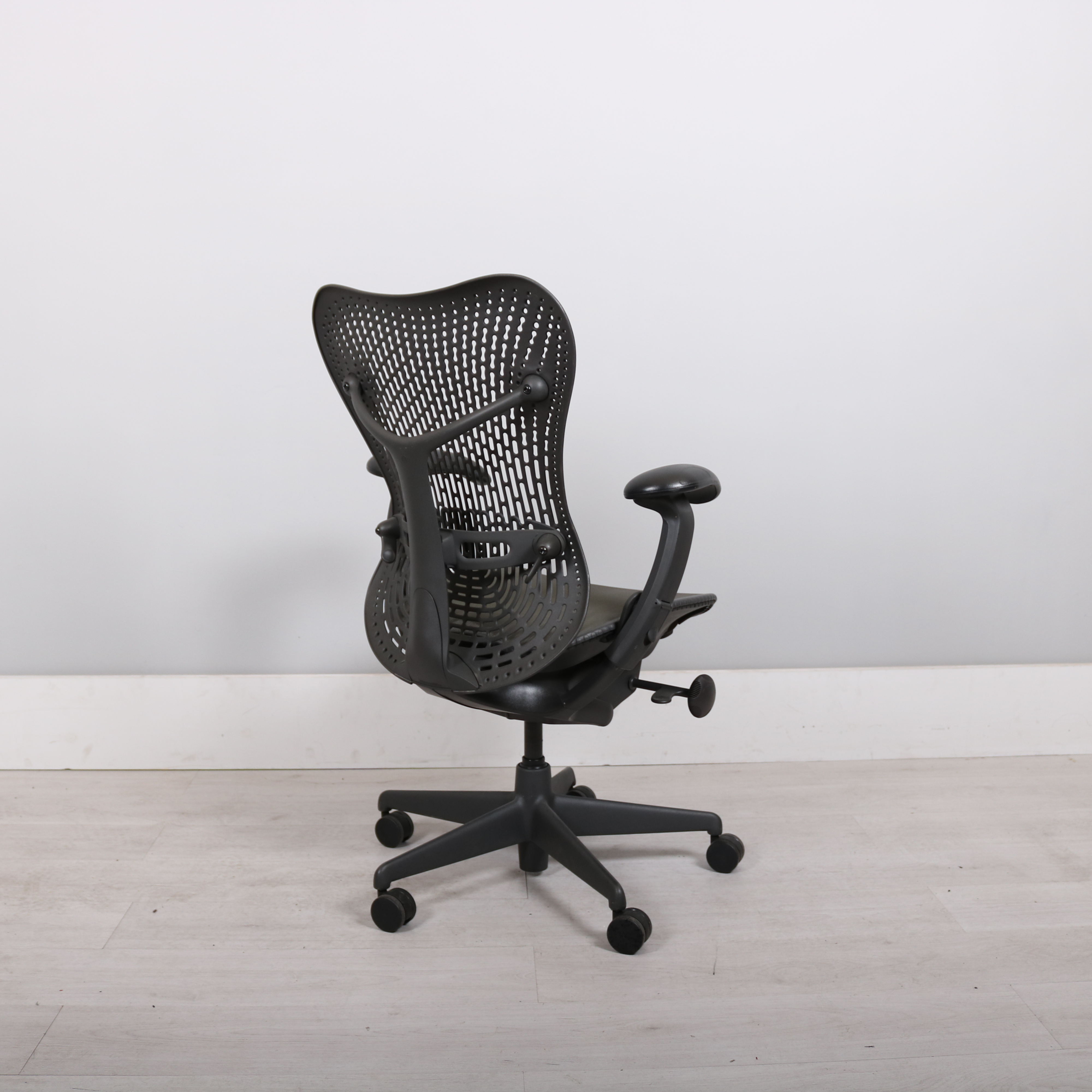 herman miller mirra task chair. Herman Miller Graphite Mirra Chair. Return To Previous Page. Zoom Images Task Chair A